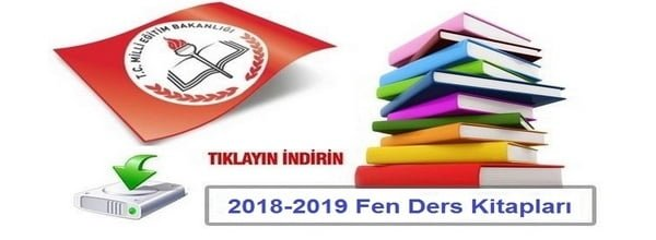 2018-2019 FEN BİLİMLERİ DERS KİTAPLARI